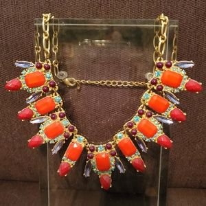 Charming Charlie Multi-Color Statement Necklace
